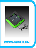 CE ROHS be supported big capacity charger for mobile phone charger 2600 mA modern portable solar charger for mobile phone