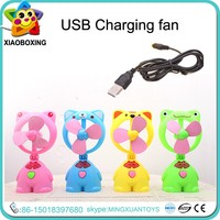 New product plastic charging mini usb fan with cold wind