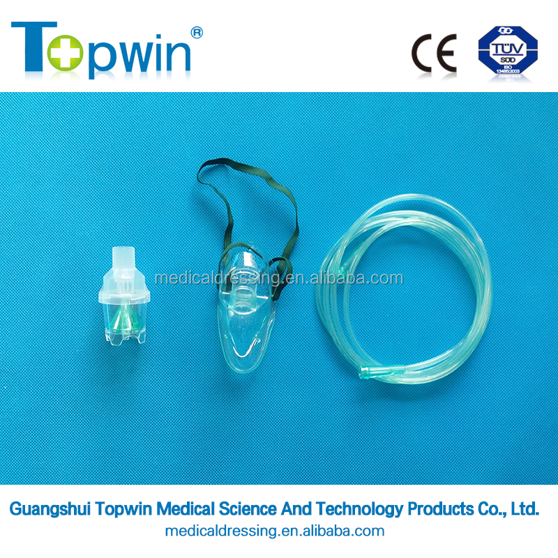 Disposable sugical Oxygen Mask with Nebulizer set