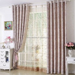 China crest home used curtains,fashions international design curtains