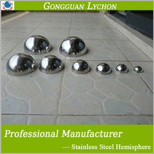 half hollow stainless steeel / mild steel ball 600mm 500mm steel hemisphere