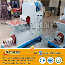 small capacity rice straw briquette machine to make charcoal log