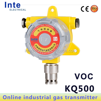 4-20mA industrial usage Online VOC monitor gas detector adopt city sensor