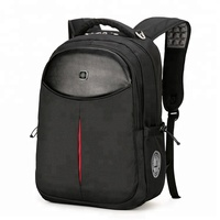 2019 hot sale stylish best black 1200D nylon usb charging 15.6 laptop backpack waterproof