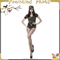 young girl party army sex costume