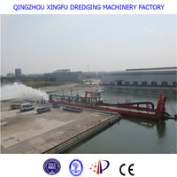 Hydraulic separable small river sand dredging machine/ boat/ vessel/ ship/ barge/ equipment for sale