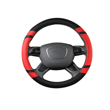 Universal Odorless Eco Auto Car Steering Wheel Cover Rim Gray