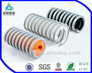 coil/round plastic circular brush for proilshing