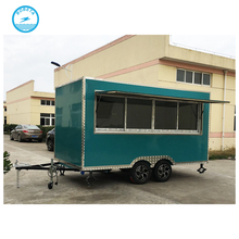 2017 new China supplier ice cream truck / coffee trailers / food grilling cart for sale