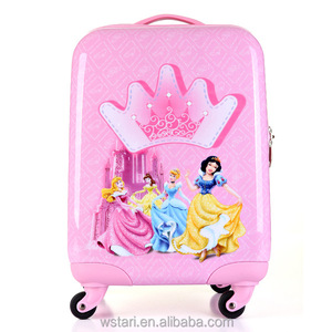 High quality kids school bags children luggage for girl with lovely pattern