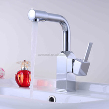 Wholesale- Luxury Brass Water Tap, Deck Mounted Basin Faucet, 360 degree turn mixer