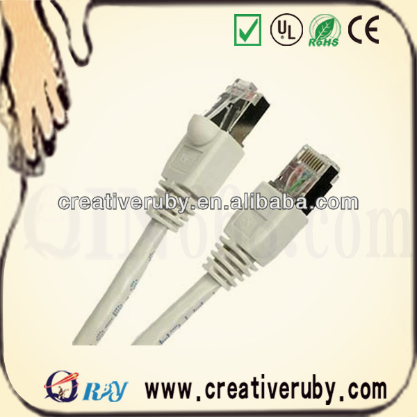 Shielding Cable RJ45 Cat6 Patch Cord 3m With Booted Connector