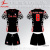 China No Brand Sublimation Big Size Xxxl 4Xl 5Xl Soccer Uniform Shirt Set Jersey