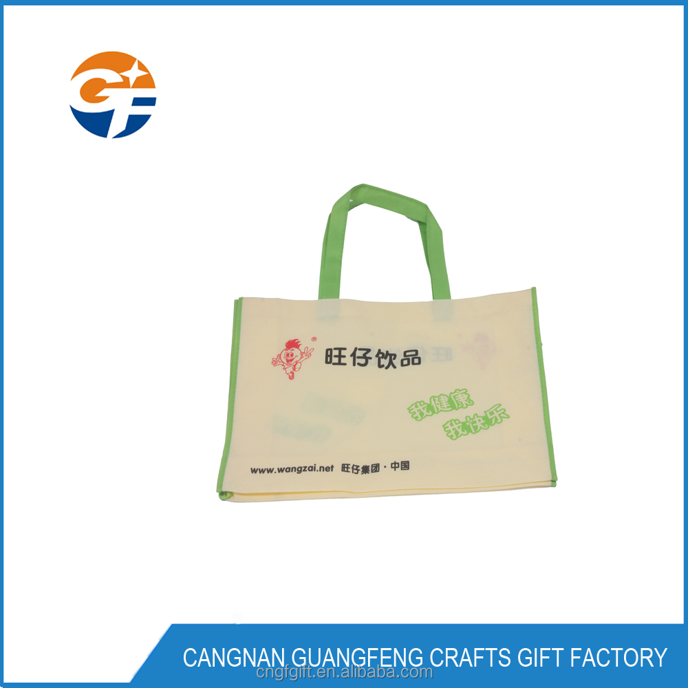 Wholesale Cheap Price Reusable Non Woven Shopping TNT Bag, Promotional