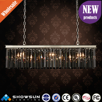 china manufacturers egyptian Crystal plexiglass small pendant lamp