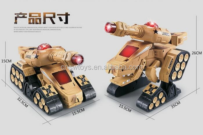 JiaQi new toy Eclectic robot tank toy Transformation Robot Tank toy