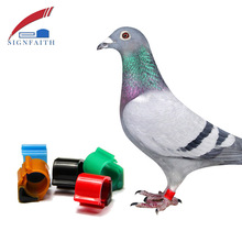 125khz RFID Rewritable Electronic Pigeon Rings With em4100