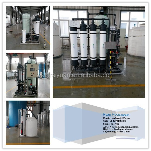 Ultrafiltration membrane machine for water purification/UF Ultrafiltration system