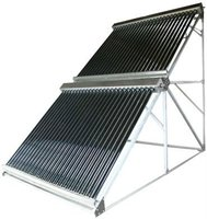 glazed pressure solar collector