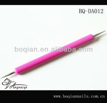 Boqian Factory Direct pur Rose rouge acrylique poignée Nail Dotting outil