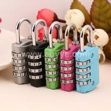 Safety padlock 4 digits number password combination password lock