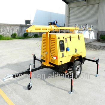 CSC POWER !! hot sale best price construction field mobile solar light tower