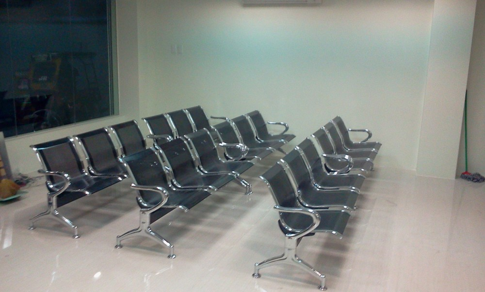 Stainless Steel Tandem Chair,Stainless Steel Link Chair,Gang