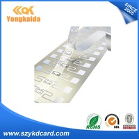 Factory Price NFC UHF Rfid Dry Inlay Tag For Access System