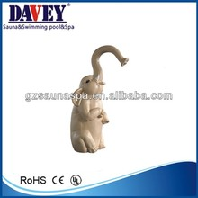 2014 new High quality Swimming Pool Mouth Impact Elephant Shower Nozzle