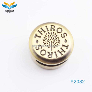 eco-friendly sewing metal button for jeans