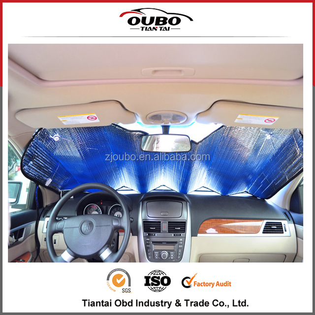 High quality and low pricr PE Bubble car front window sun shade