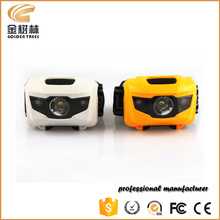 Battery operated sport led flashlight headlamp,waterproof LED hunting headlamp