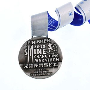 Wholesale High Quality Custom 3D Award Metal Medal with Ribbon