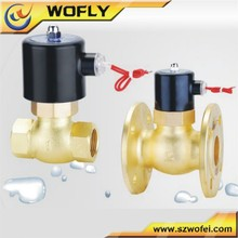 1.6MPa brass material 220v/24v high frequency liquid gas steam solenoid valve high temperature