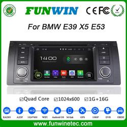 Funwin Android 4.4.4 car dvd player touch screen car radio 2 din for bmw x5 e53 WIFI 3G bluetooth 2000-2007
