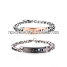 titanium steel allergy a birthday present stainless steel fashion magnetic bracelet