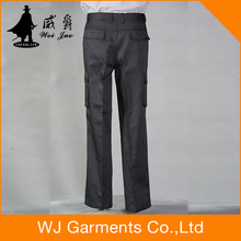 hi vis trousers Men's Cotton Safety Cargo Work Pants Workwear Working Trousers