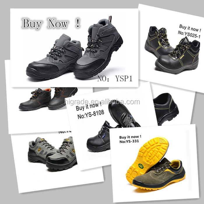 215000 Sample Buy Now ! leather safety boots safety shoes sbp standard
