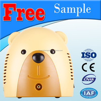 Shuangsheng SS-7B cartoon bear aerosol nebulizer with tubing & mask