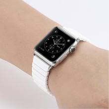 2017 New Black Color Replacement Ceramic Watch Band for Apple Watch