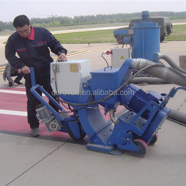 ISO9001&CE airfield runway air blast cleaning machine