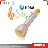 Portable magic mic K088 condenser wireless microphone with speaker_HL1976