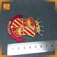 Wholesale decorative badge embroidery for t-shirts bags caps on sale various designs available