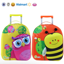 3D cartoon animal big space trolley eva luggage