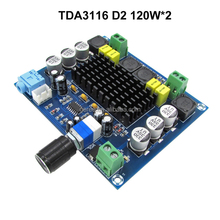 TPA3116D2 Dual channel Stereo class D Digital Audio Power Amplifier 120W*2 DC12V-24V XH-M547