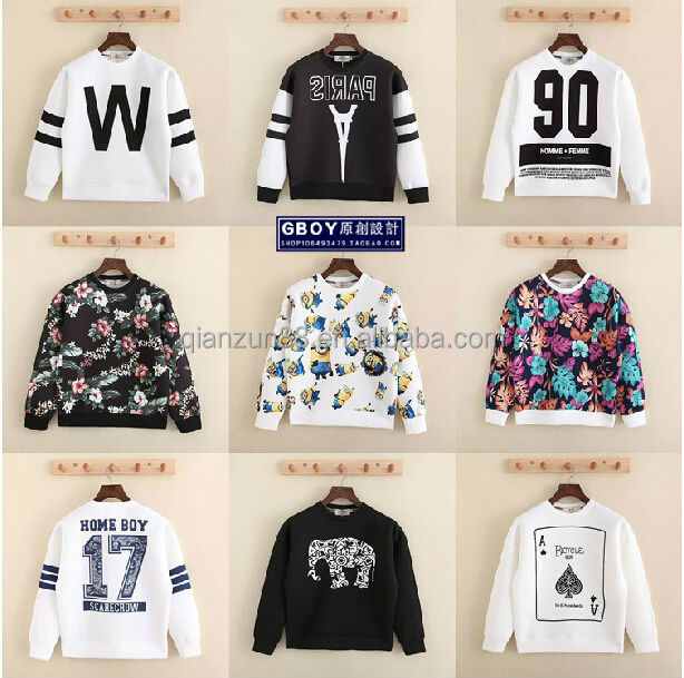 Sublimation Crewneck Sweatshirt Custom Mens Sweatshirt - Buy Mens ...