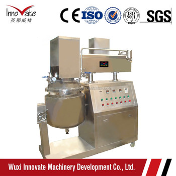 Toothpaste Manufacturing Equipment, toothpaste production mixer, Automatic Toothpaste Blender