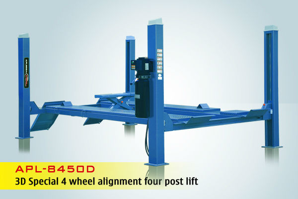 aplboda brand APL-8450D hydraulic car lift with CE certificate