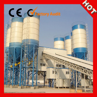 ISO Certification Concrete Batching Plant HZS120 for Large and Medium Sized Construction