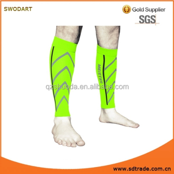 Meister Graduated 20-25mmHg Compression Running Leg Sleeves for Shin Splints (Pair)